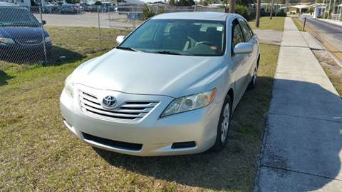 2007 Toyota Camry for sale at GOLDEN GATE AUTOMOTIVE,LLC in Zephyrhills FL