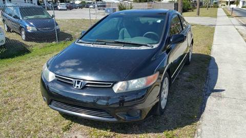 2008 Honda Civic for sale at GOLDEN GATE AUTOMOTIVE,LLC in Zephyrhills FL