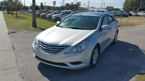 2011 Hyundai Sonata for sale at GOLDEN GATE AUTOMOTIVE,LLC in Zephyrhills FL