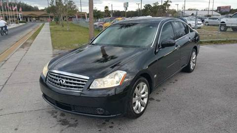 2006 Infiniti M35 for sale at GOLDEN GATE AUTOMOTIVE,LLC in Zephyrhills FL