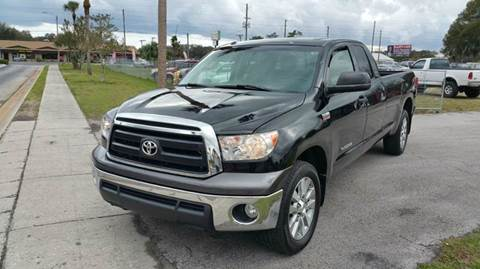 2011 Toyota Tundra for sale at GOLDEN GATE AUTOMOTIVE,LLC in Zephyrhills FL