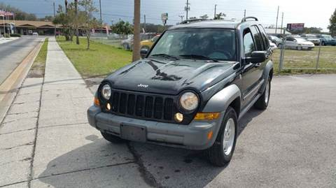 2006 Jeep Liberty for sale at GOLDEN GATE AUTOMOTIVE,LLC in Zephyrhills FL