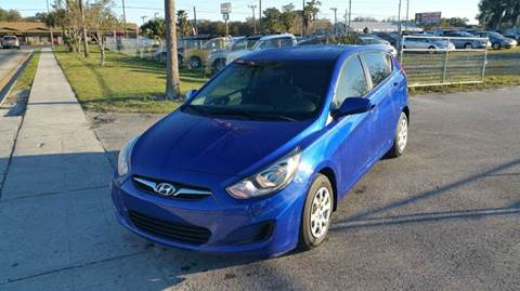 2013 Hyundai Accent for sale at GOLDEN GATE AUTOMOTIVE,LLC in Zephyrhills FL