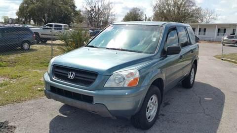 2005 Honda Pilot for sale at GOLDEN GATE AUTOMOTIVE,LLC in Zephyrhills FL