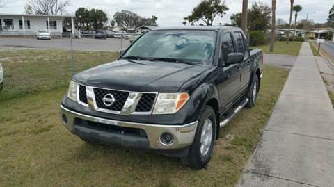 2005 Nissan Frontier for sale at GOLDEN GATE AUTOMOTIVE,LLC in Zephyrhills FL