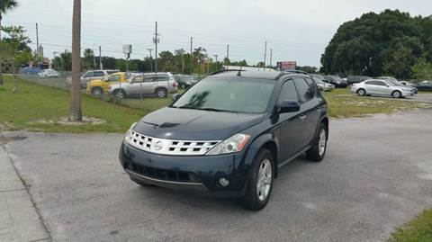 2003 Nissan Murano for sale at GOLDEN GATE AUTOMOTIVE,LLC in Zephyrhills FL