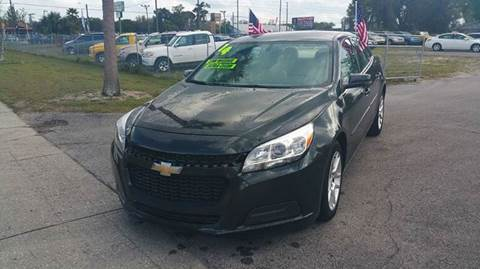 2014 Chevrolet Malibu for sale at GOLDEN GATE AUTOMOTIVE,LLC in Zephyrhills FL