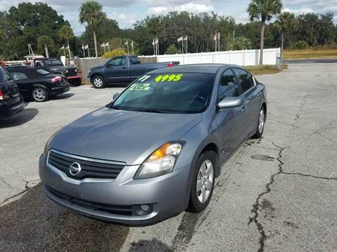 2007 Nissan Altima for sale at GOLDEN GATE AUTOMOTIVE,LLC in Zephyrhills FL