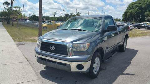 2007 Toyota Tundra for sale at GOLDEN GATE AUTOMOTIVE,LLC in Zephyrhills FL