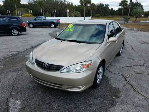 2006 Toyota Camry for sale at GOLDEN GATE AUTOMOTIVE,LLC in Zephyrhills FL