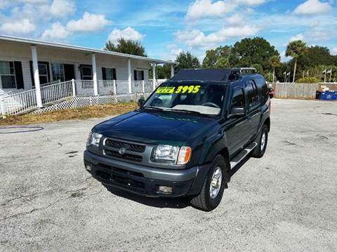 2000 Nissan Xterra for sale at GOLDEN GATE AUTOMOTIVE,LLC in Zephyrhills FL