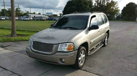 2003 GMC Envoy for sale at GOLDEN GATE AUTOMOTIVE,LLC in Zephyrhills FL