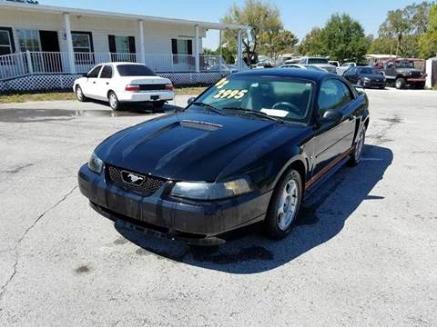 2002 Ford Mustang for sale at GOLDEN GATE AUTOMOTIVE,LLC in Zephyrhills FL