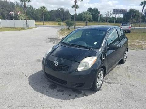 2007 Toyota Yaris for sale at GOLDEN GATE AUTOMOTIVE,LLC in Zephyrhills FL