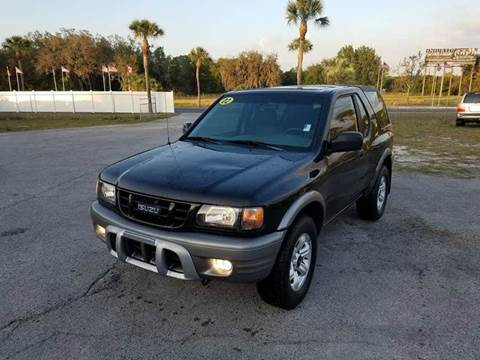 2002 Isuzu Rodeo Sport for sale at GOLDEN GATE AUTOMOTIVE,LLC in Zephyrhills FL