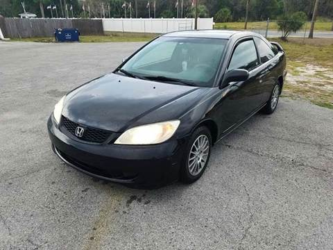 2005 Honda Civic for sale at GOLDEN GATE AUTOMOTIVE,LLC in Zephyrhills FL