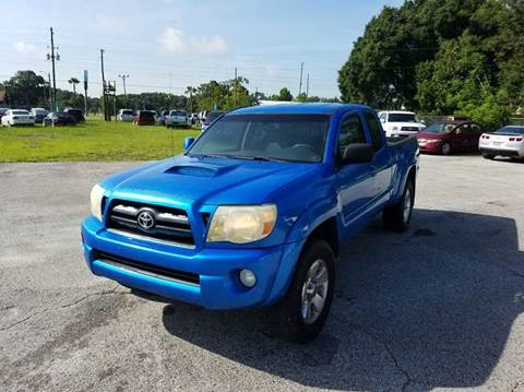 2008 Toyota Tacoma for sale at GOLDEN GATE AUTOMOTIVE,LLC in Zephyrhills FL