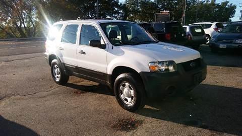 2006 Ford Escape & Real Deal Auto Sales - Used Cars - Manchester NH Dealer markmcfarlin.com