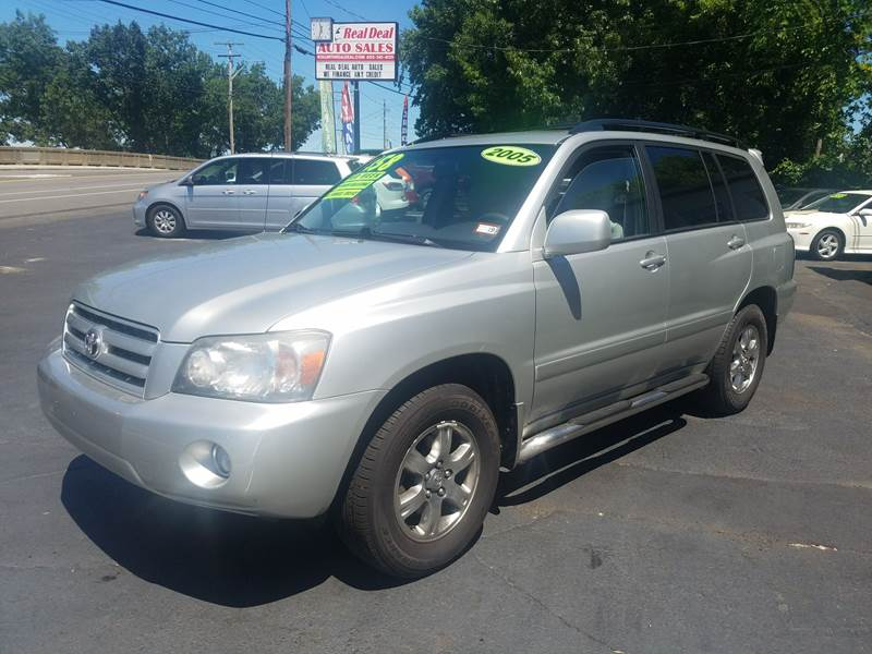 2005 Toyota Highlander For Sale At Real Deal Auto Sales In Manchester NH