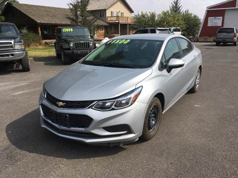 2016 Chevrolet Cruze for sale in Ammon, ID