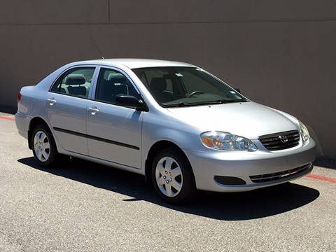 2007 Toyota Corolla for sale at Austin Elite Motors in Austin TX