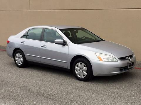 2003 Honda Accord for sale at Austin Elite Motors in Austin TX