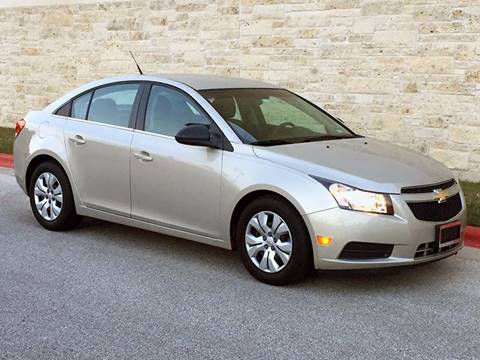 2012 Chevrolet Cruze for sale at Austin Elite Motors in Austin TX