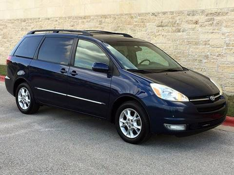 2005 Toyota Sienna for sale at Austin Elite Motors in Austin TX