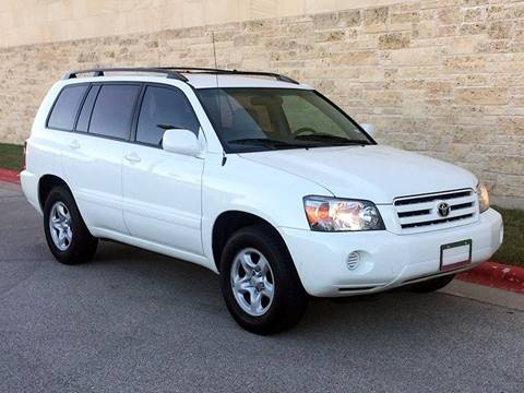 2006 Toyota Highlander for sale at Austin Elite Motors in Austin TX