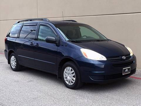 2004 Toyota Sienna for sale at Austin Elite Motors in Austin TX
