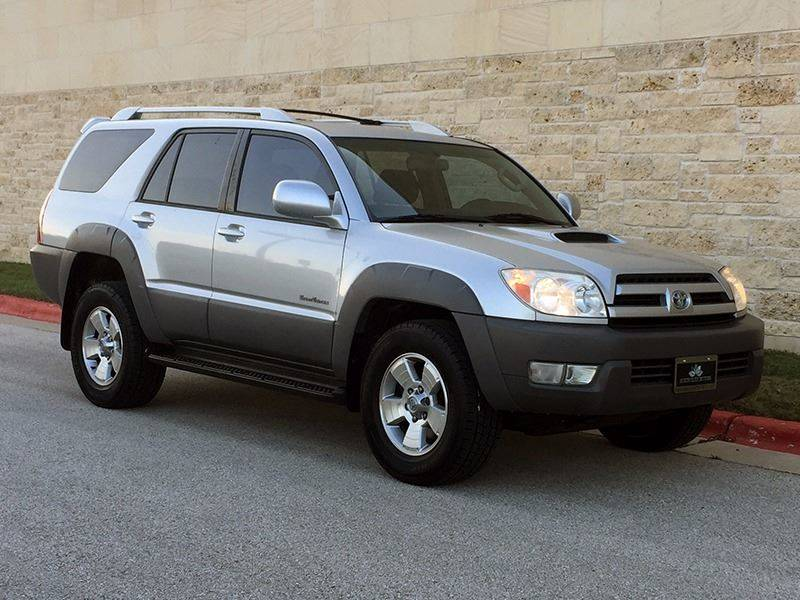Captivating 2003 Toyota 4Runner For Sale At Austin Elite Motors In Austin TX