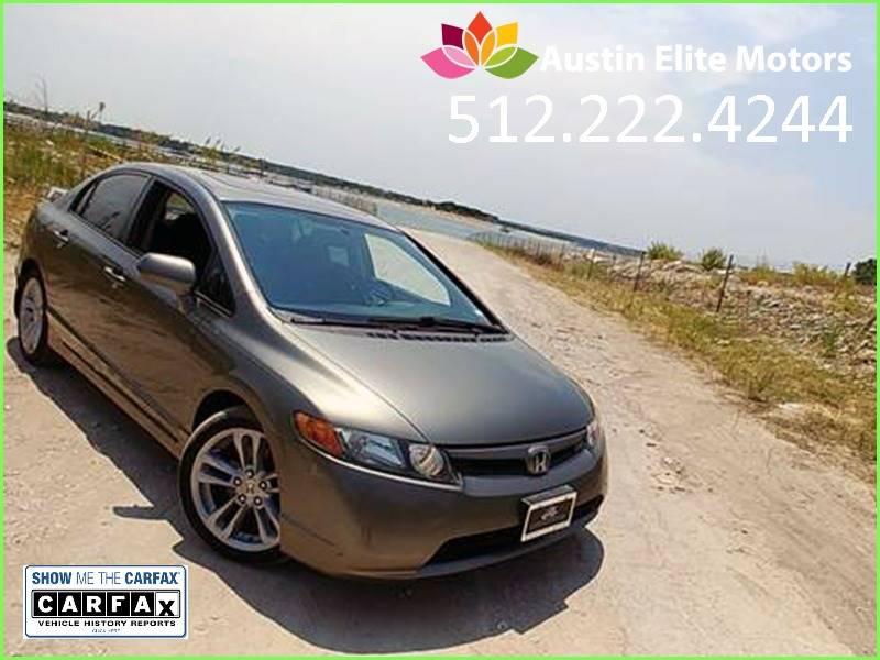 2008 Honda Civic For Sale At Austin Elite Motors In Austin TX