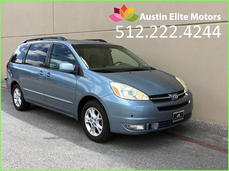 2005 Toyota Sienna For Sale At Austin Elite Motors In Austin TX