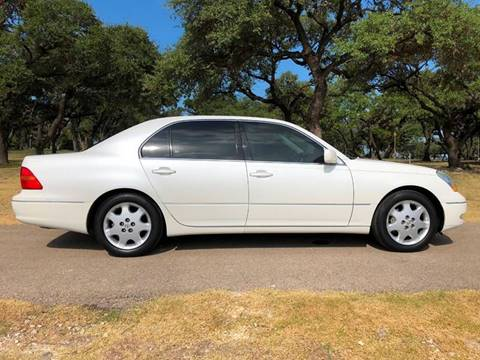 2001 Lexus LS 430 for sale at Austin Elite Motors in Austin TX