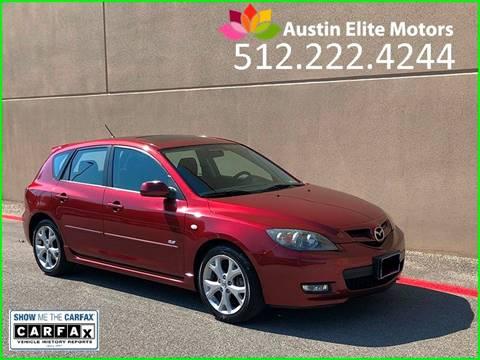 2008 Mazda MAZDA3 for sale at Austin Elite Motors in Austin TX