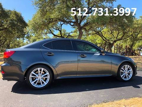2007 Lexus IS 350 for sale at Austin Elite Motors in Austin TX