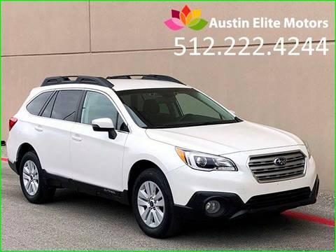 2015 Subaru Outback for sale at Austin Elite Motors in Austin TX