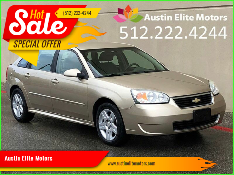 2007 Chevrolet Malibu Maxx for sale at Austin Elite Motors in Austin TX