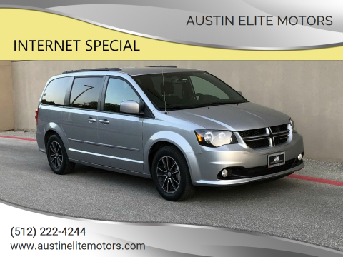 2017 Dodge Grand Caravan for sale at Austin Elite Motors in Austin TX