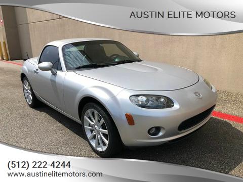 2008 Mazda MX-5 Miata for sale at Austin Elite Motors in Austin TX