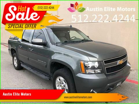 2011 Chevrolet Avalanche for sale at Austin Elite Motors in Austin TX