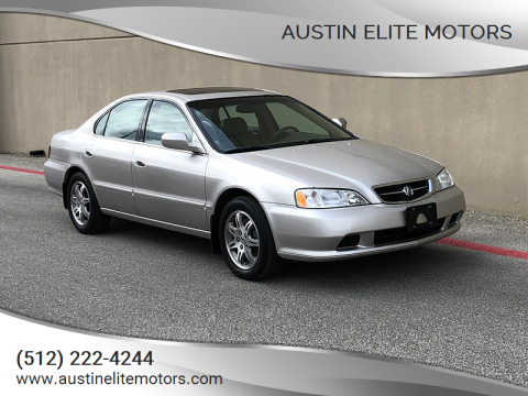 1999 Acura TL for sale at Austin Elite Motors in Austin TX