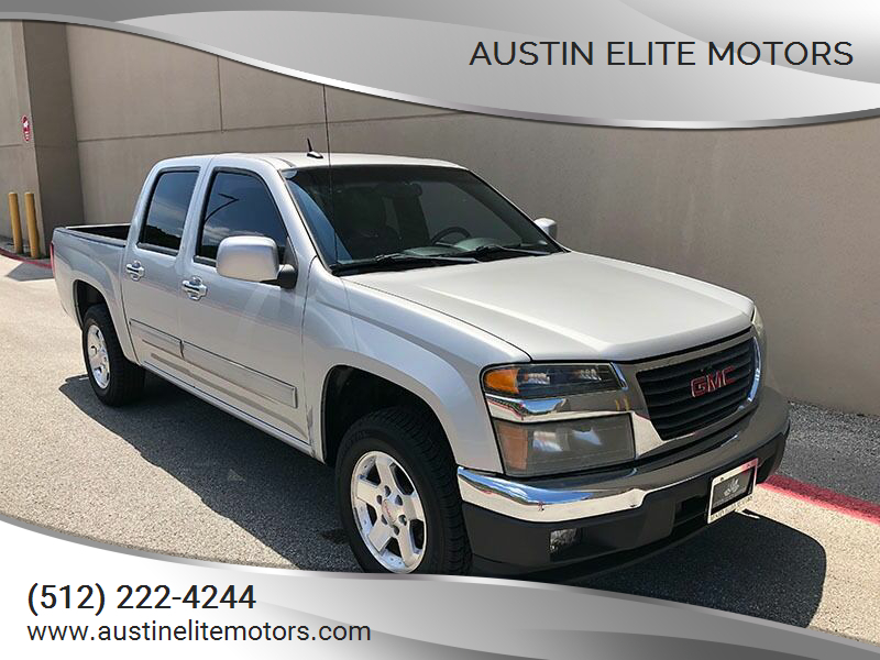 2011 GMC Canyon for sale at Austin Elite Motors in Austin TX