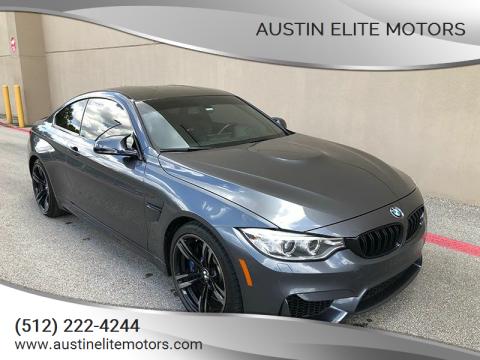 2016 BMW M4 for sale at Austin Elite Motors in Austin TX