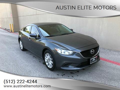 2015 Mazda MAZDA6 for sale at Austin Elite Motors in Austin TX