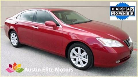 2009 Lexus ES 350 for sale at Austin Elite Motors in Austin TX