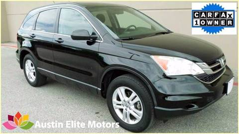 2011 Honda CR-V for sale at Austin Elite Motors in Austin TX