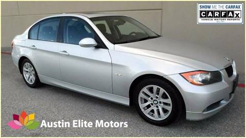 2007 BMW 3 Series for sale at Austin Elite Motors in Austin TX