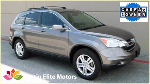 2010 Honda CR-V for sale at Austin Elite Motors in Austin TX