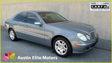 2006 Mercedes-Benz E-Class for sale at Austin Elite Motors in Austin TX